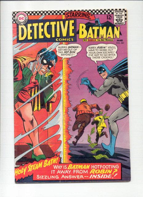 Detective #361 comic book vg/fn 5.0