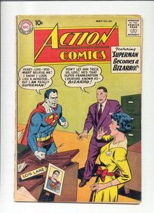 Action Comics #264 comic book poor 1.0