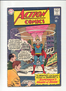 Action Comics #328 comic book vg 4.0