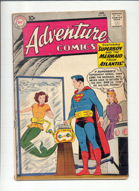 Adventure Comics #280 comic book vg 4.0