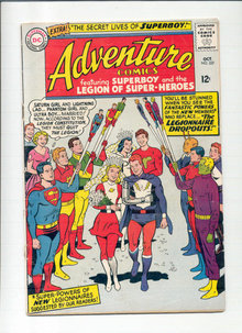Adventure Comics #337 comic book vg 4.0