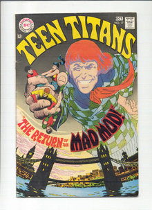 Teen Titans #17 comic book  fn 6.0