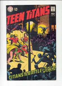 Teen Titans #20 comic book  vg/fn 5.0