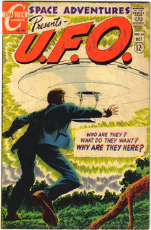 Space Adventures Presents U.F.O. #60 comic book vg/fn 5.0