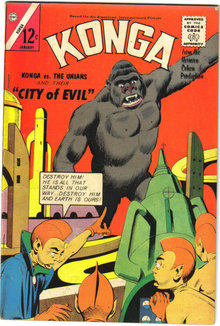Konga #16 comic book fn+ 6.5
