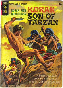 Korak Son of Tarzan #9  comic book fn 6.0
