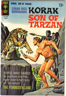 Korak Son of Tarzan #24  comic book vf 8.0