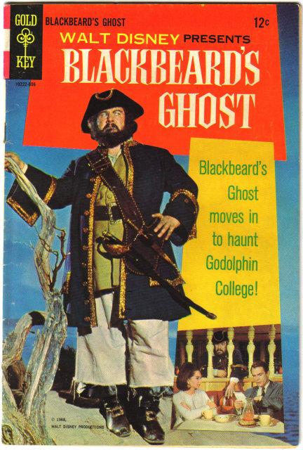 Blackbeard's Ghost movie comic book vg/fn 5.0