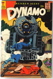 Dynamo #4 comic book fn+ 6.5