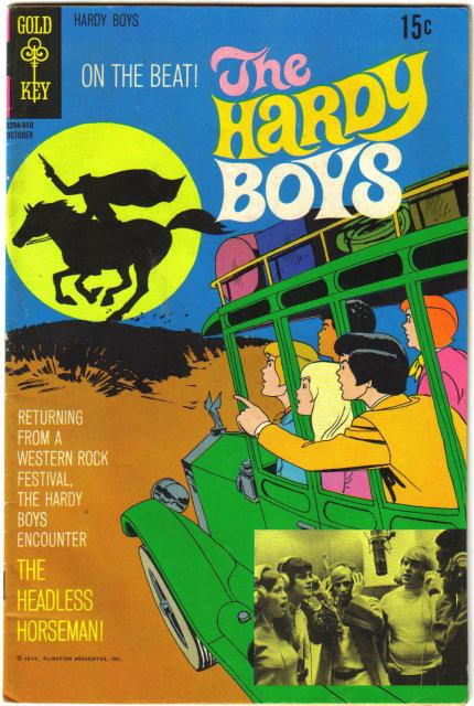 The Hardy Boys #3 comic book fn 6.0