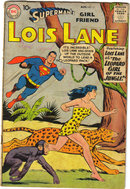 Superman's Girlfriend Lois Lane #11 comic book g/vg 3.0