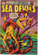 Sea Devils #18 comic book vg/fn 5.0
