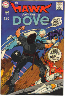 Hawk and the Dove #3 comic book fn/vf 7.0