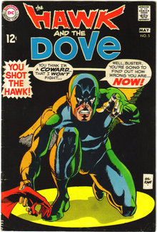 Hawk and the Dove #5 comic book fn 6.0