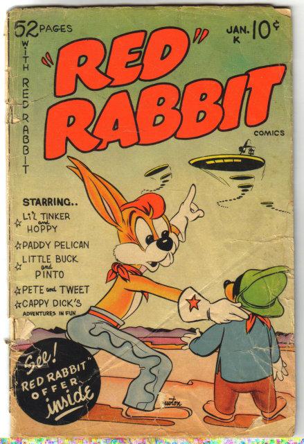 Red Rabbit #18 comic book fa 1.5