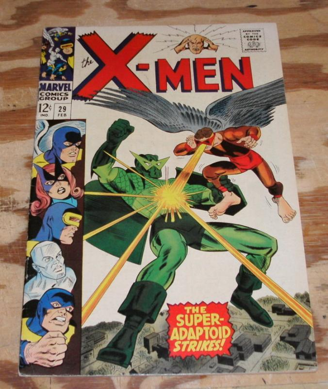 Uncanny X-men #29 very fine/near mint 9.0