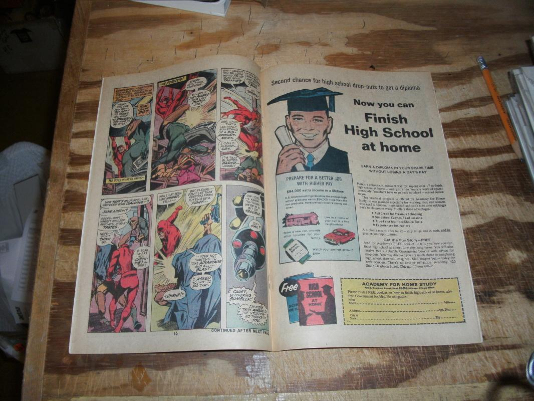 Daredevil the Man Without Fear #80 comic book near mint 9.4