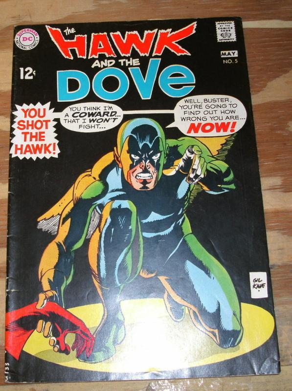 Hawk and the Dove #5 fn/vf 7.0