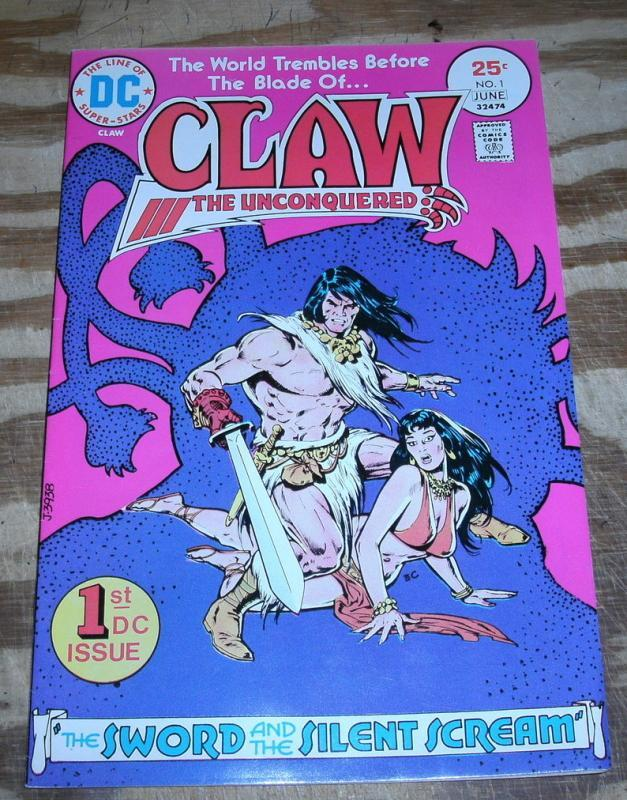 Claw the Unconquered #1 near mint 9.4