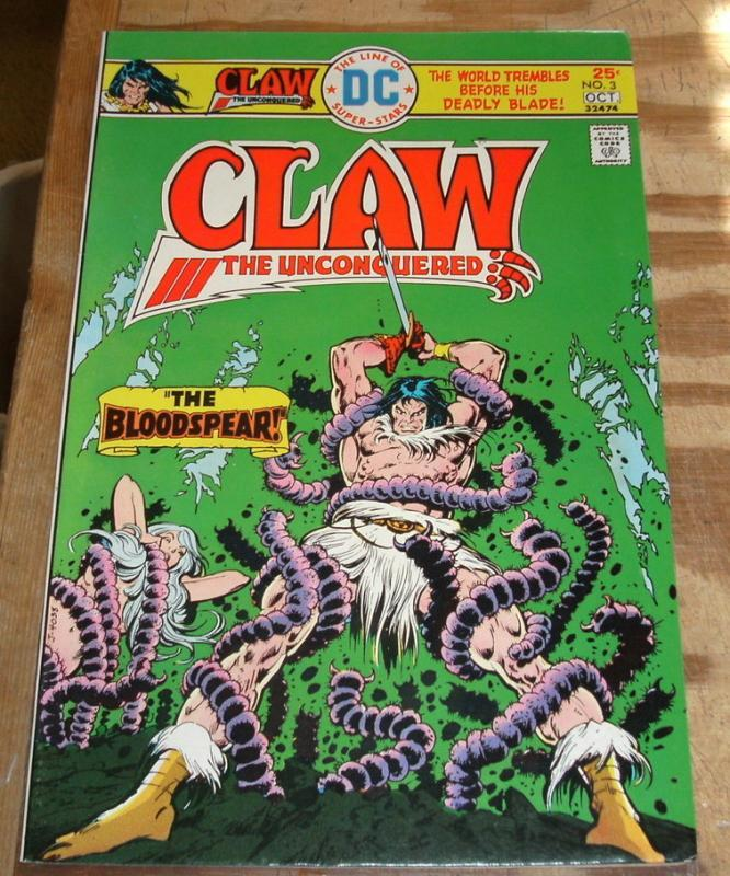Claw the Unconquered #3  near mint/mint 9.8