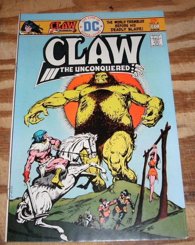 Claw the Unconquered #4  near mint/mint 9.8
