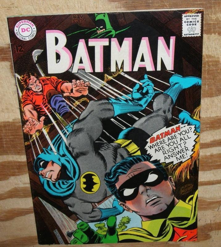 Batman #196 very fine 8.0