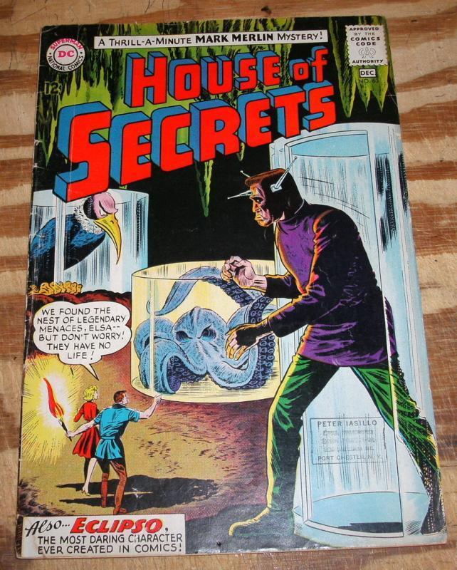 House of Secrets #63 comic book very good 4.0