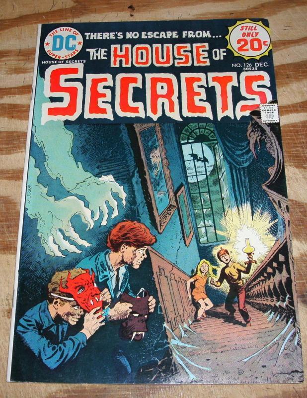 House of Secrets #126 comic book near mint 9.4