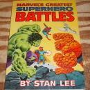 Marvel's Greatest Superhero Battles Fireside book fn/vf 7.0