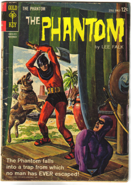 Phantom #9 comic book vg 4.0