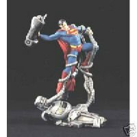 Superman Man vs. Machine 1998 statue