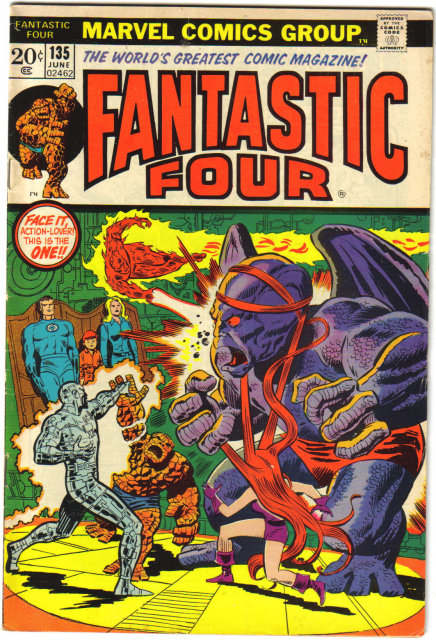 Fantastic Four #135 comic book vf 8.0