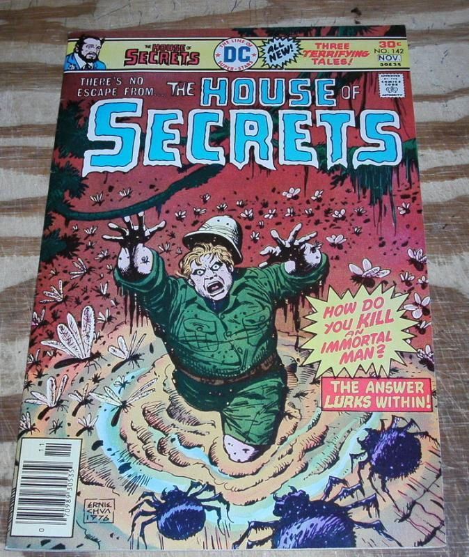 House of Secrets #142 comic book very fine/near mint 9.0
