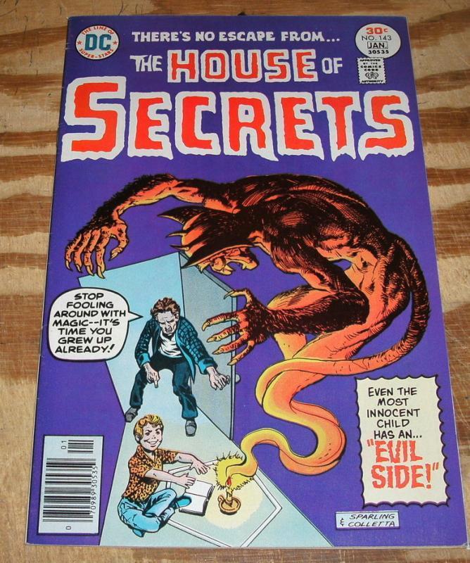 House of Secrets #143 comic book very fine/near mint 9.0