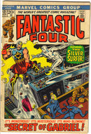 Fantastic Four #121 comic book fn/vf 7.0