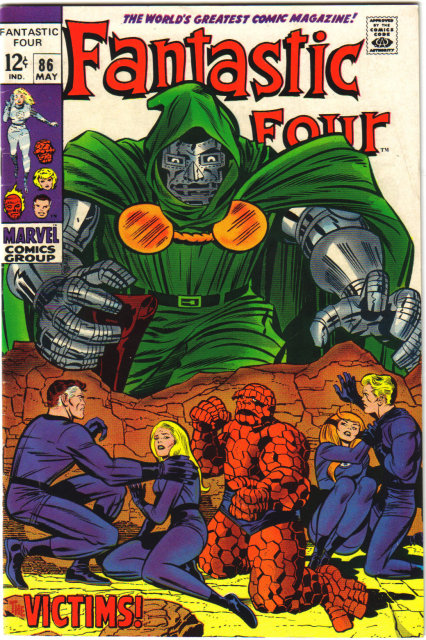 Fantastic Four #86 comic book vf 8.0