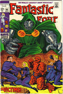 Fantastic Four #86 comic book vf 8.0