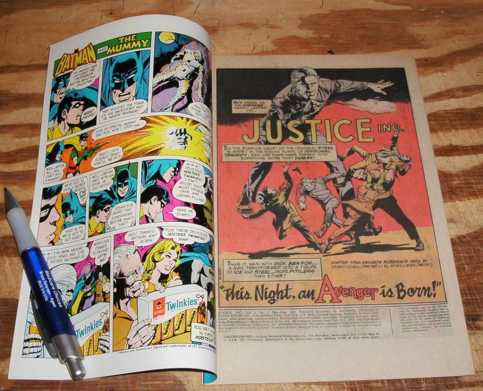 Justice Inc. #1 comic book near mint 9.4