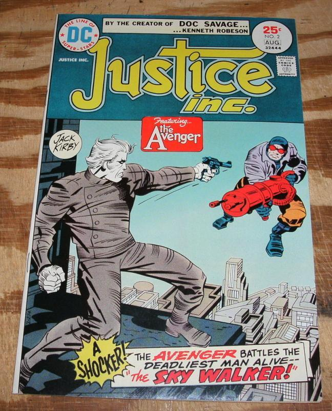 Justice Inc. #2 comic book near mint plus 9.6
