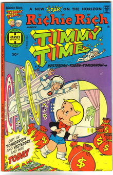 Richie Rich Meets Timmy Time #1 comic book vg/fn 5.0