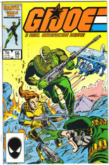 G.I.Joe #56 comic book mint 9.9