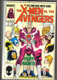 Set of X-men vs. the Avengers comic book mini series mint