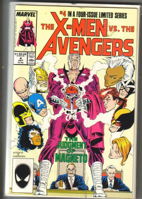 Set of X-men vs. the Avengers comic book mini series mint