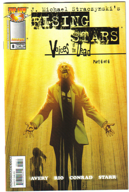 J. Michael Straczynski's Rising Stars Voices of the Dead 6 issue mini series mint condition