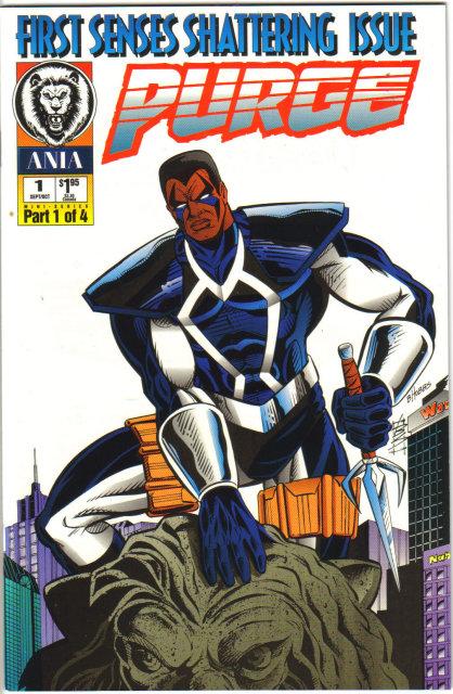 Purge #1 comic book mint 9.4