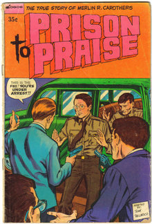 Prison to Praise Christian comic book 1974