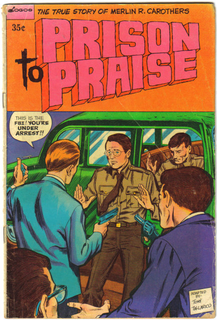 Prison to Praise Christian comic book 1974