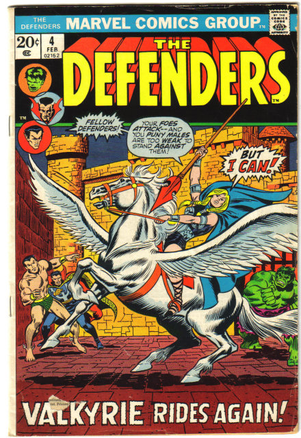 Defenders #4 comic book good/very good 3.0