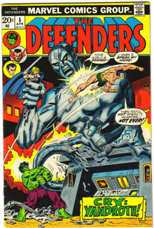 Defenders #5 comic book very good/fine 5.0