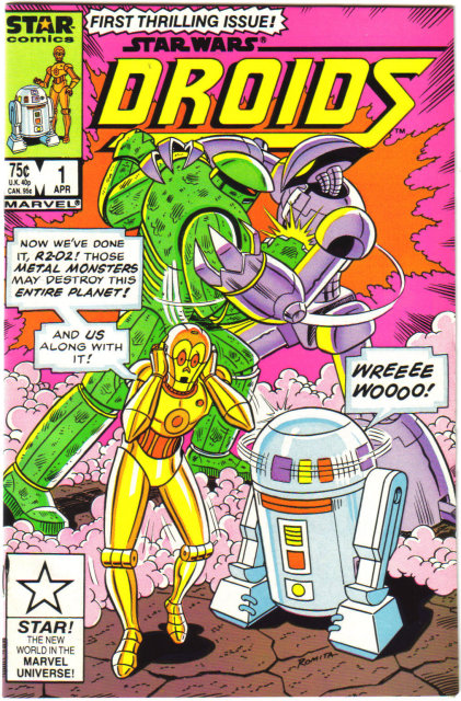 Star Wars: Droids #1 comic book near mint 9.4